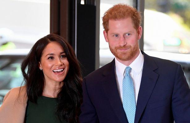 高位王族退位を発表したヘンリー王子とメーガン妃