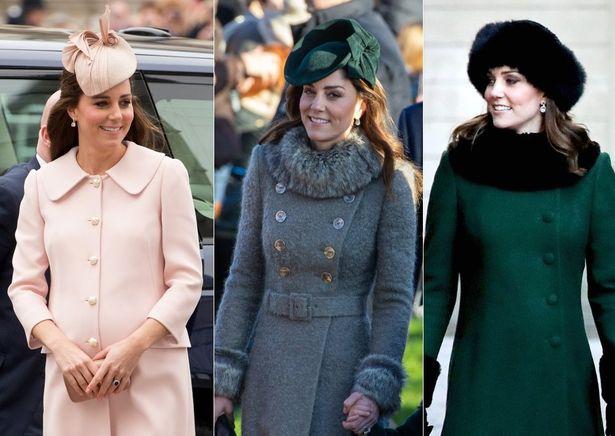 キャサリン妃のコートスタイル