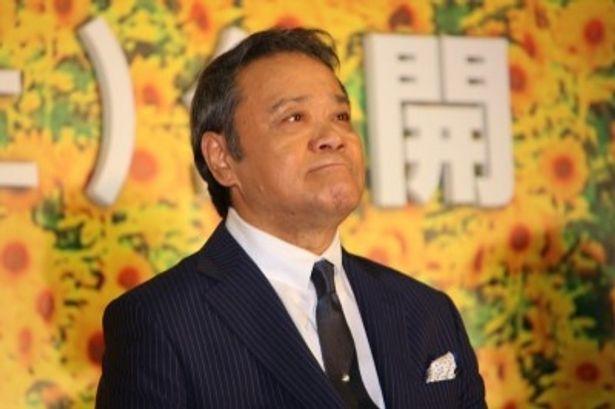 『星守る犬』の会見でロケをした被災地について語った西田敏行