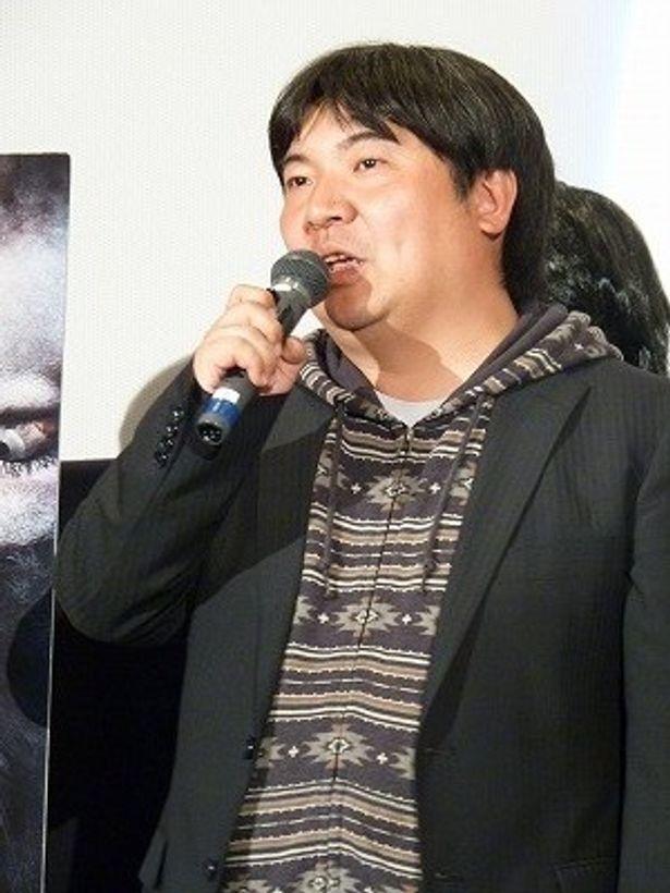 編集中に遭遇した恐怖体験を明かした井口昇監督