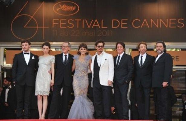 第64回カンヌ国際映画祭に出席した一同