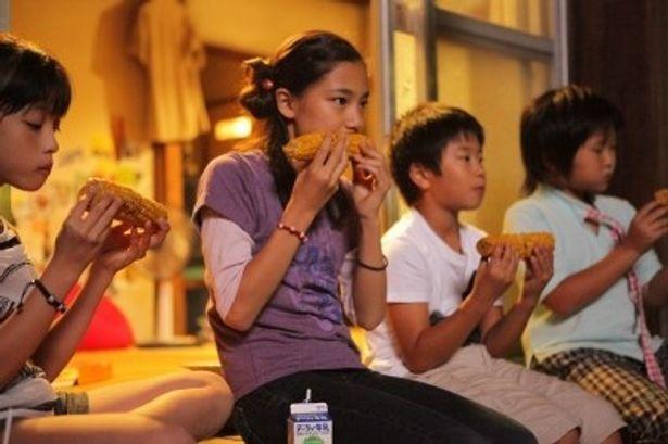 まえだまえだの弟・前田旺志郎演じる木南龍之介のクラスメイトというのが内田伽羅の役どころ