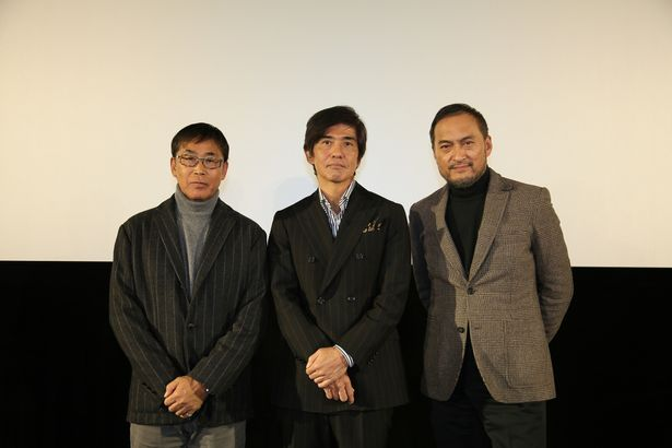 映画『Fukushima 50』佐藤浩市、渡辺謙、若松節朗監督がそれぞれの想いを胸に福島キャンペーンを実施