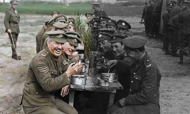 第一次世界大戦の映像を復元!その作業プロセスがとてつもない!