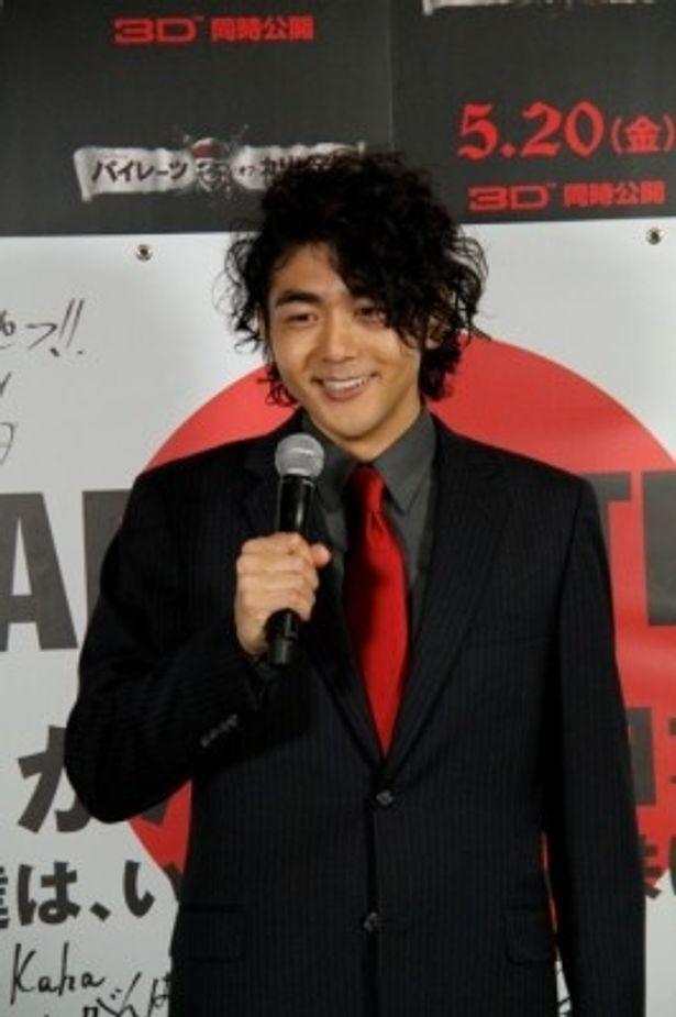 日本人として唯一『パイレーツ・オブ・カリビアン 生命の泉』に出演している松崎悠希