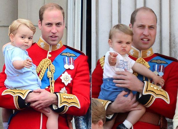 ジョージ王子とルイ王子が似てきた?