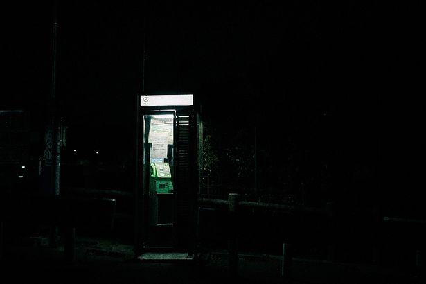 こ、これは有名な電話ボックス!