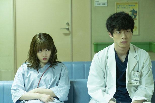 坂口は医師の速水秀悟役を、永野は凶悪犯に打たれた女子大生の川崎瞳役を演じた