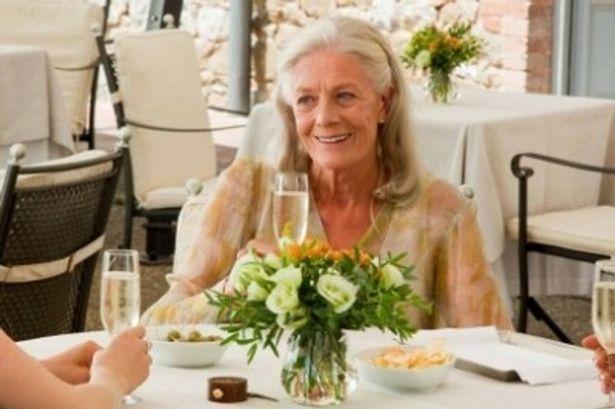50年ぶりにイタリアを訪れるクレアを演じたヴァネッサ・レッドグレイヴ