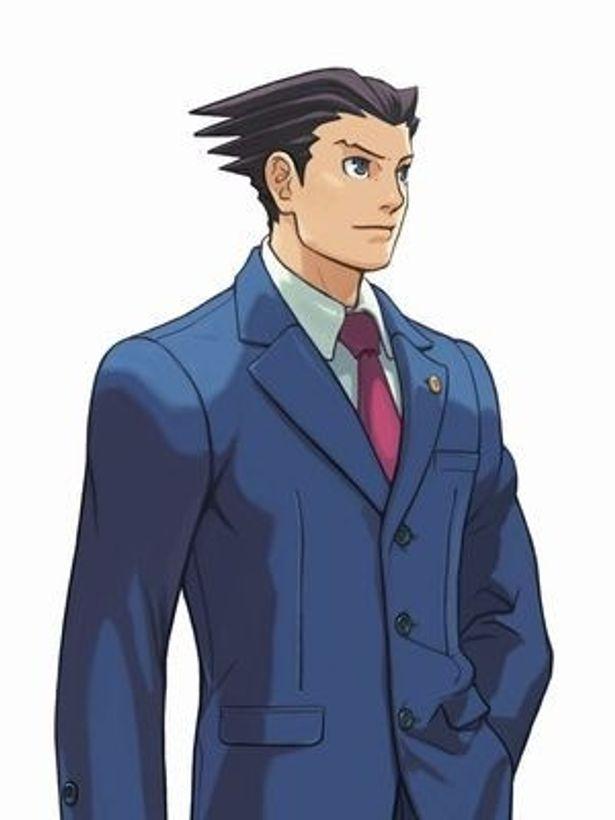 【写真】ゲームの主人公・成歩堂龍一。弁護士として数々の逆転無罪を勝ち取っている