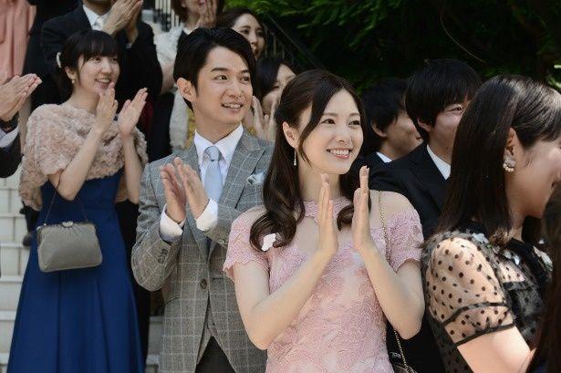 白石麻衣が演じるのは、恋人の松田美乃里役