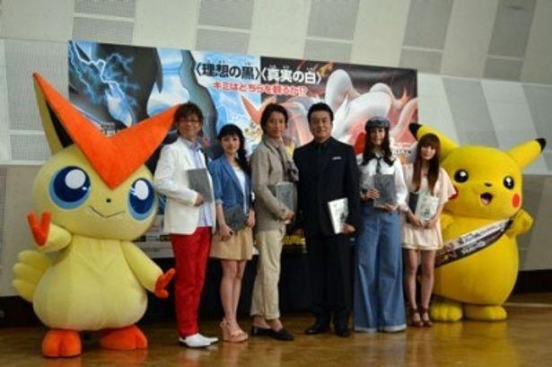 高橋英樹、谷原章介ら豪華俳優陣が集結し、『劇場版ポケットモンスター』の公開アフレコを実施
