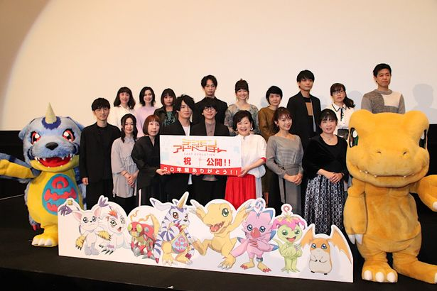 アグモン役の坂本千夏は「早々に泣いてしまいました」