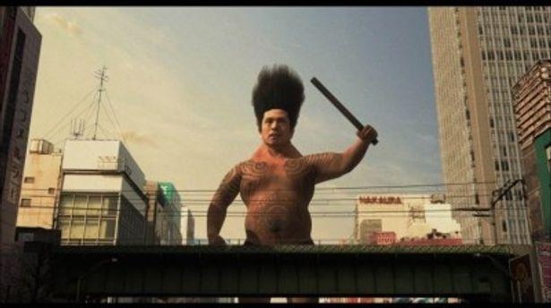 ハリウッドリメイクされることが決まった、松本人志監督第1作品目『大日本人』