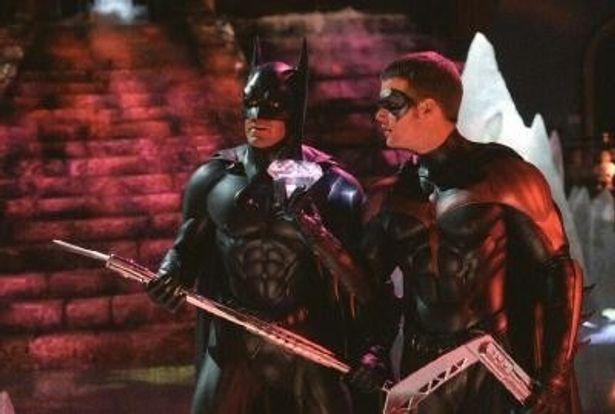 コミカルなテイストになったシリーズ第4作『バットマン&ロビン Mr.フリーズの逆襲』(97)