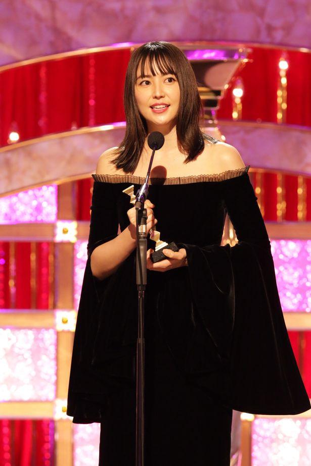 『キングダム』で最優秀助演女優賞を受賞した長澤まさみ