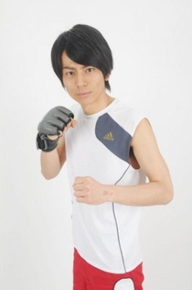 『アベックパンチ』で主演のイサキ役を務めた牧田哲也