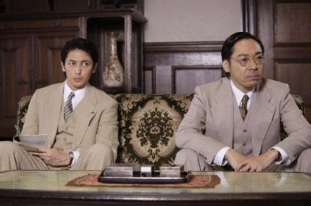 『聯合艦隊司令長官 山本五十六』への出演が決まった、左から、玉木宏、香川照之