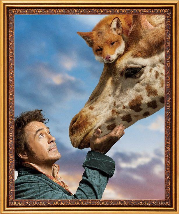 【写真を見る】ドリトル先生の動物図鑑!キツネ&キリンのコンビが最高にキュート<写真17点>