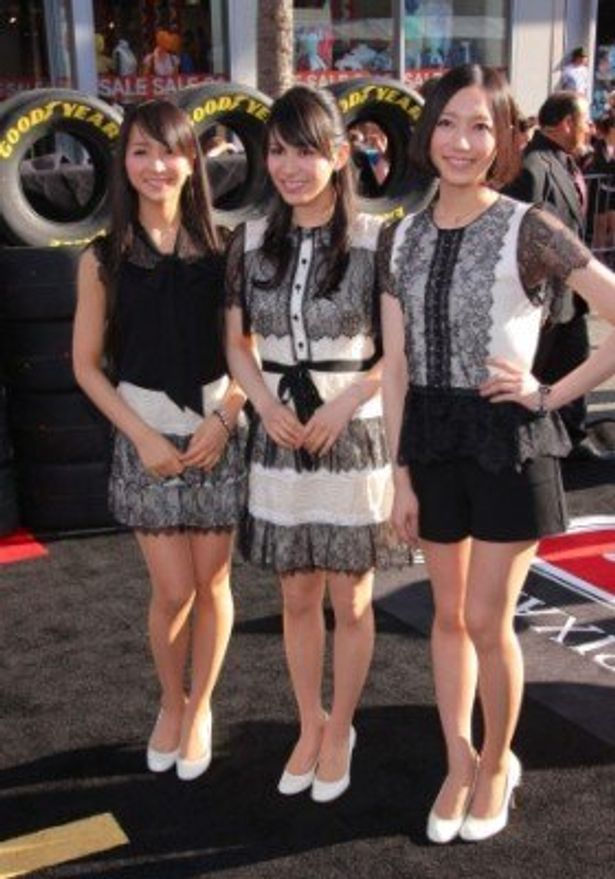 Perfumeの3人もワールドプレミアに大興奮!