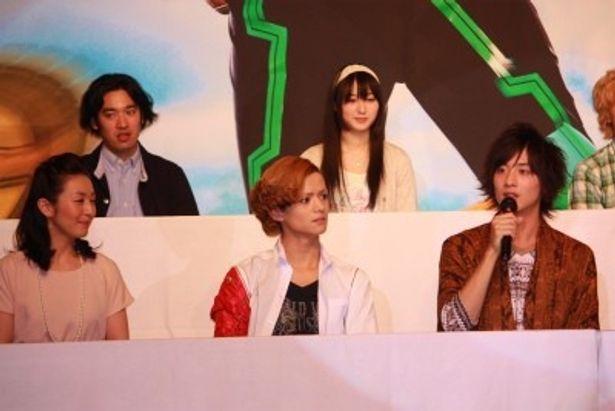 柴崎貴行監督率いる仮面ライダーオーズのチーム
