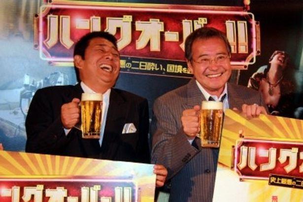 山本譲二と吉幾三がガチ飲みトークイベントを開催
