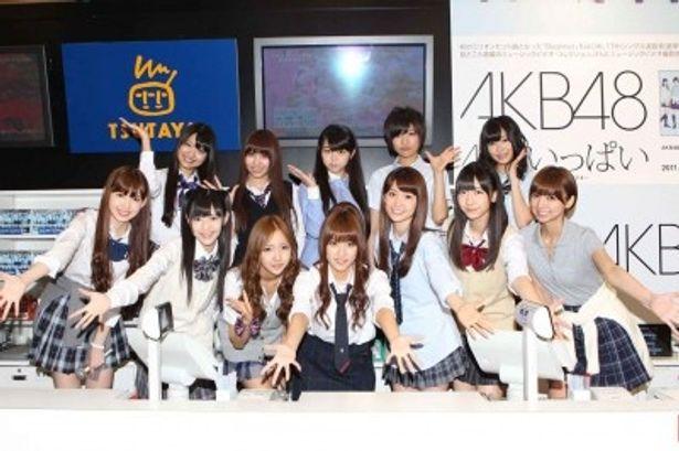 SHIBUYA TSUTAYAを完全ジャックしたAKB48