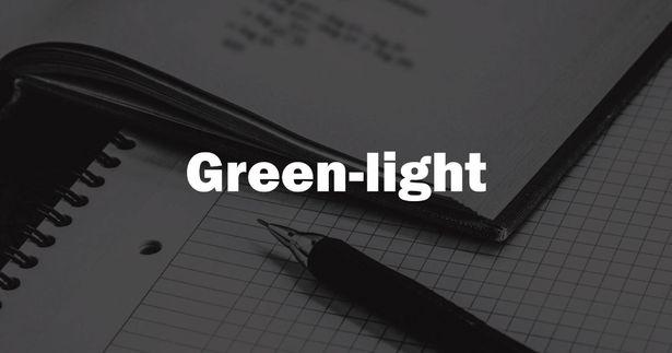 映画製作マッチングプロジェクトとなる「Green-light」