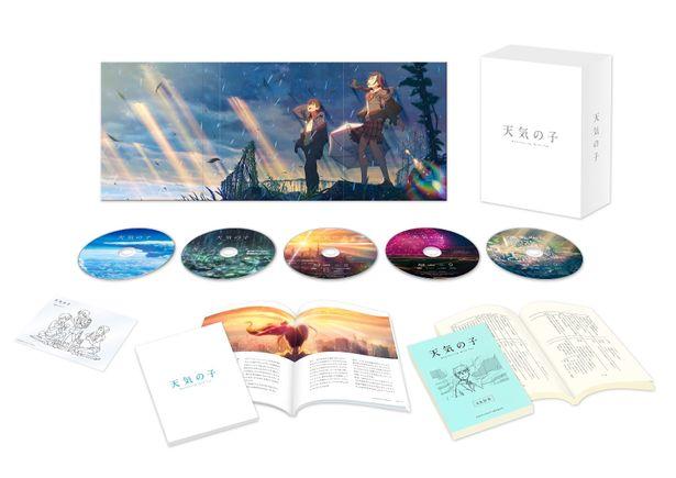 『天気の子』Blu-rayコレクターズ・エディションは、5月27日(水)より発売