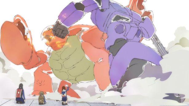 【写真を見る】巨大ロボがモンスターと戦う!躍動感あふれる映像世界を堪能<画像22点>