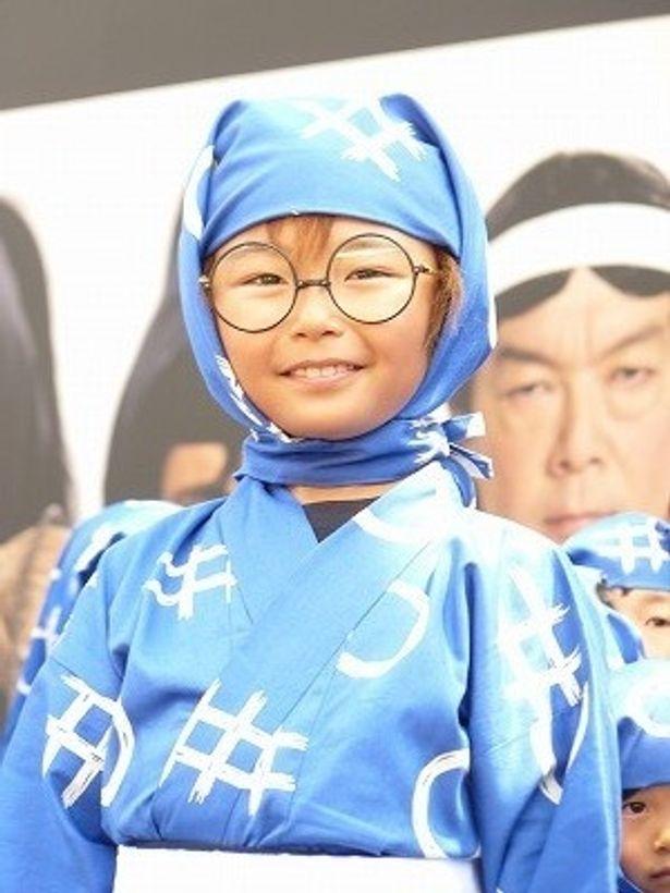 【写真】忍者になる夢が叶った加藤清史郎