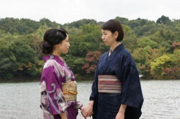 【写真】湯浅芳子(右)を演じるのは菜葉菜