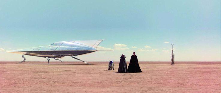 エピソード2のHタイプ・ヌビアン・ヨット