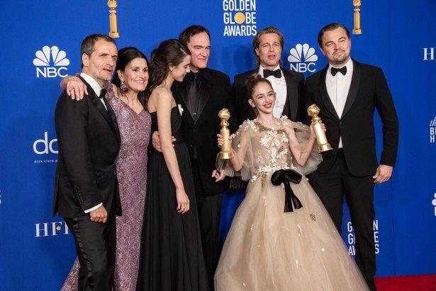 昨年のゴールデン・グローブ賞はタランティーノ監督作『ワンス・アポン・ア・タイムインハリウッド』(19)が最多部門受賞