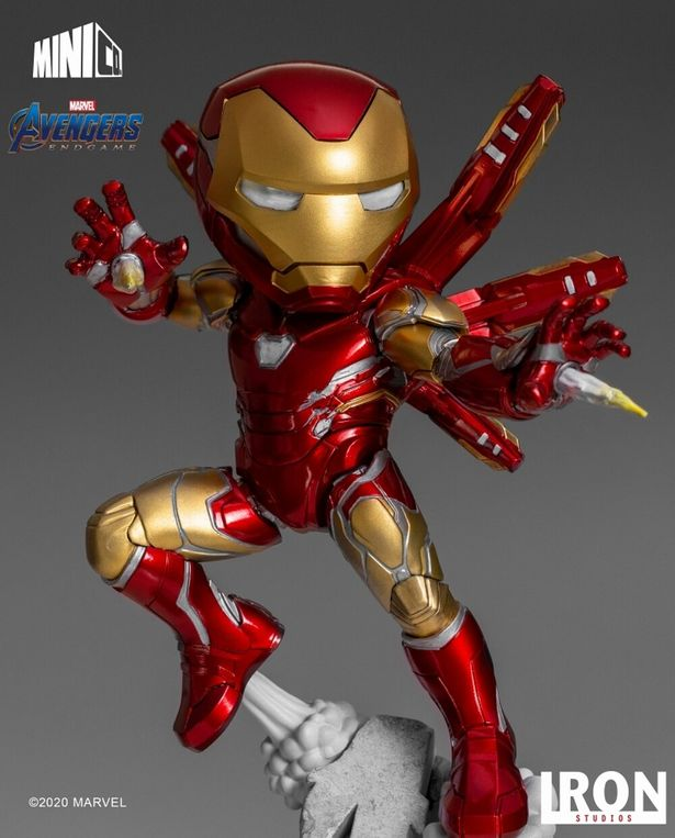 マーベルのヒーローたちがかっこかわいい姿に!(「ミニヒーローズ/ アベンジャーズ エンドゲーム: アイアンマン トニー・スターク PVC」)