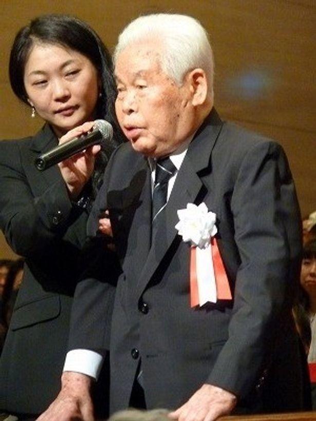 新藤監督は戦争の悲惨さを映画で訴え続けてきた