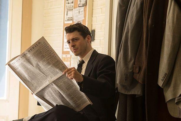反ファシズム思考のアルヴィン役は「ゲーム・オブ・スローンズ」にも出演したアンソニー・ボイル