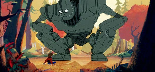 『アイアン・ジャイアント』(99)に登場する巨大ロボットも活躍!