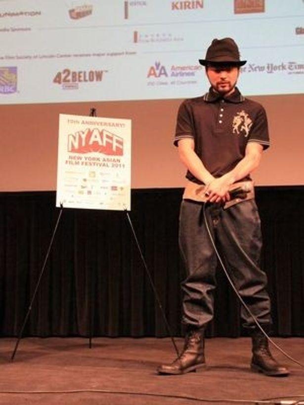 映画祭では海外初のディレクターズカットを上映。ニューヨークの時代劇ファンも大いに満足したようだ