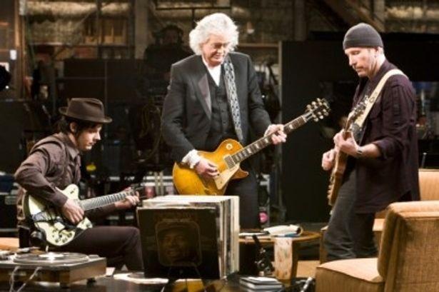 『ゲット・ラウド ジ・エッジ、ジミー・ペイジ、ジャック・ホワイト×ライフ×ギター』は9月9日(金)より全国公開