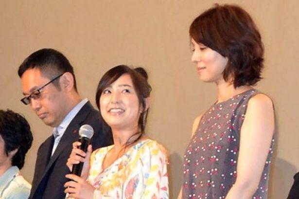 『千と千尋の神隠し』、『崖の上のポニョ』(08)に続き、ジブリ作品には本作で3度目の出演となる柊瑠美