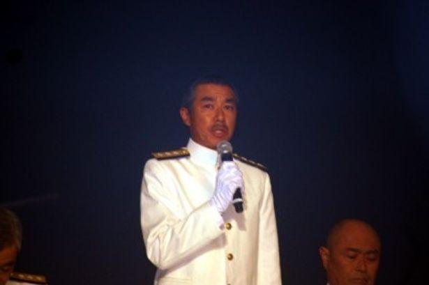 海軍省事務局長・井上成美役に柳葉敏郎