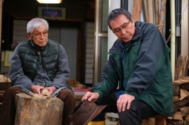 三國連太郎も出演。佐藤浩市との親子共演作となった