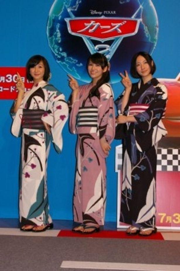 『カーズ2』挿入歌に楽曲「ポリリズム」が使用され、日本から世界へ進出したPerfume