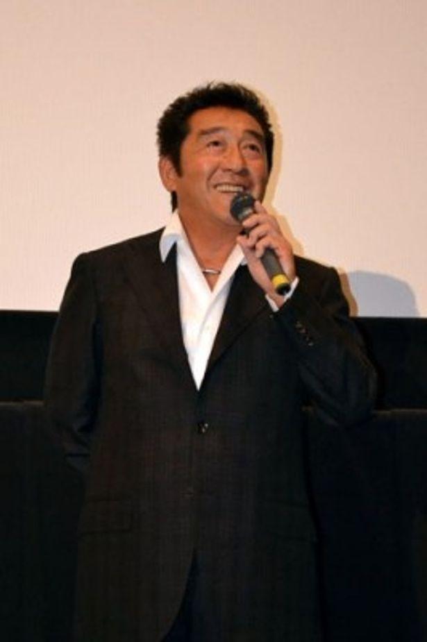 「楽しく見られて、暑気払いにぴったりの映画です」と松方弘樹