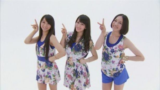 Perfumeが出演する『カーズ2』の新CMは映画公開初日の7月30日(土)より全国各地でOA予定