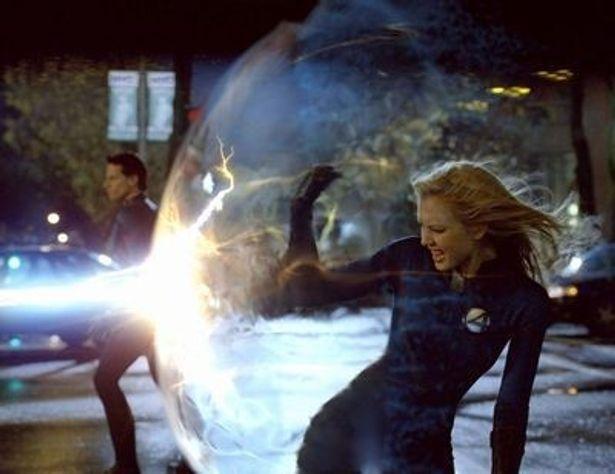 5位は『ファンタスティック・フォー』シリーズのスーザン(インビジブル・ウーマン)の自分の体を透明化する能力