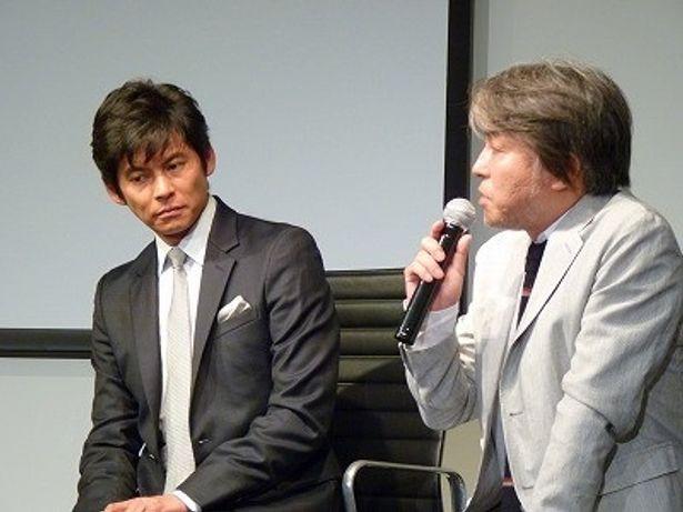 「スペインの協力がなければ映画の完成はなかった」と感謝の言葉を述べる西谷監督