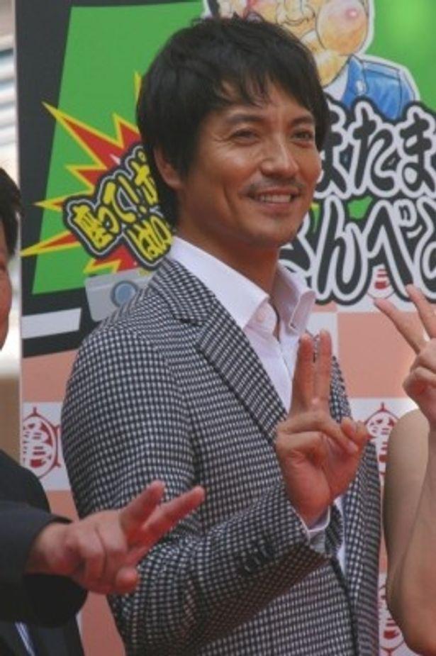 映画版にスペシャルゲストで出演している沢村一樹