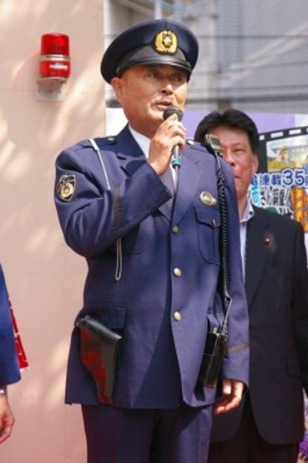 両津の上司・大原部長を演じた伊武雅刀